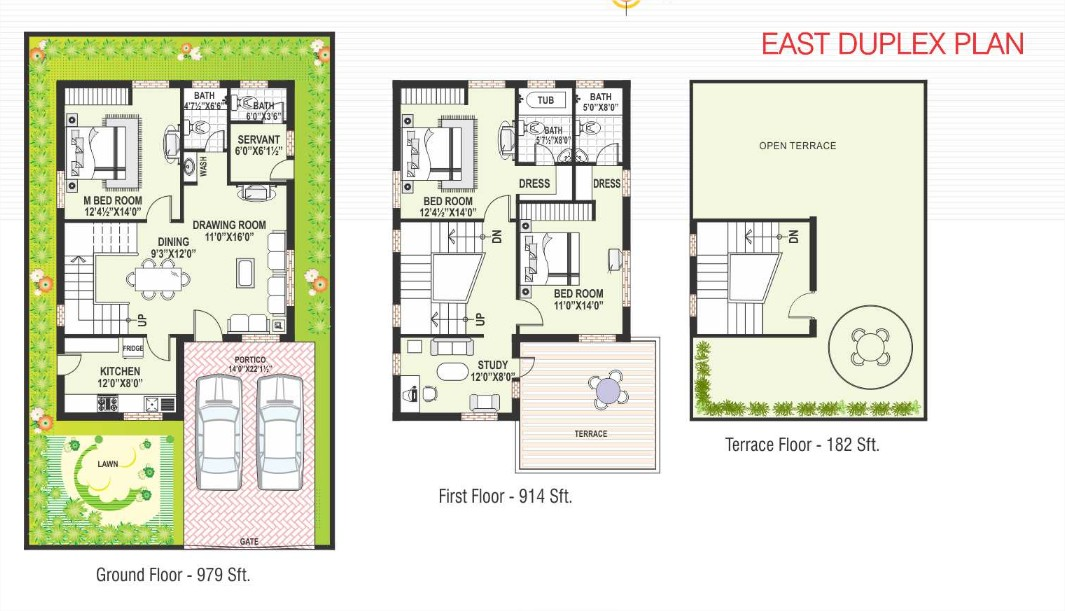 East facing duplex house plans escortsea for 30x50 duplex house plans